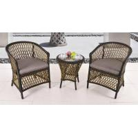wicker chair coffee table bistro set patio furniture outdoor