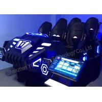 Wholesale 6 Seats Family Games Machine 9D VR Games Simulator With Virtual Reality Glasses from china suppliers