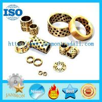Buy cheap Self lubricating brass graphite bushes,Brass graphite bushings, Self-lubricating from wholesalers