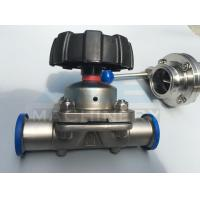 Wholesale Stainless Steel Three Way Sanitary Diaphragm Valve (ACE-GMF-C1) from china suppliers