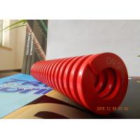 red Good elasticity  Right-handed  Good  mold spring for hardware ,  Plastic