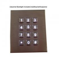 China Industrial Metal Numeric Keypad backlight For Access Bank Atm Outdoor on sale