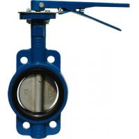 Wholesale JIS 10K Wafer Type API609 Butterfly Valve With Lever Operator from china suppliers