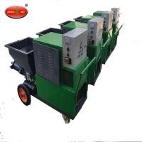 Wholesale 2018 steel cement mortar plastering wall putty spray machine from china suppliers