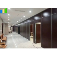 Wholesale Folding Sliding Partition Walls MDF Melamine Movable Soundproof Walls Partition from china suppliers