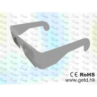 Wholesale Paper framed plastic Linear polarized 3D glasses  from china suppliers