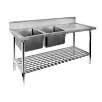 Sinks stainless steel popular sinks stainless steel - Stainless steel table with sink and faucet ...