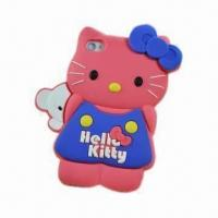 Wholesale 3D Stereoscopic Cartoon Case for iPhone 4/4S in Stock, Various Colors Available from china suppliers