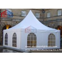 China Waterproof Aluminum 10 X 10 Party Tent / Customized Color Pagoda Canopy Tent on sale