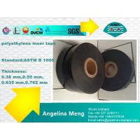 Wholesale White Black Oil And Gas Pipe Insulation Tape Polyethylene Backing Rubber Adhesive from china suppliers