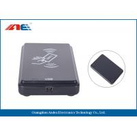 Wholesale Micro Power HF USB RFID Scanner RFID Card Reader Writer SDK And Demo Software Provided from china suppliers