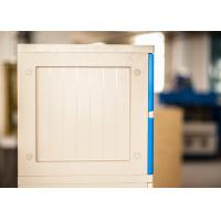 Wholesale Keyless 8 Tier Home Storage Lockers Bule Door Small Lockers For Employees from china suppliers