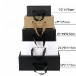 Luxury Custom Printing Packaging Paper Gift Box Handle Corrugated Box
