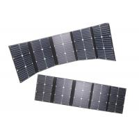 Wholesale 20v 100w Foldable Solar Panel For Solar Power System 142x30cm Unfolded Dimension from china suppliers