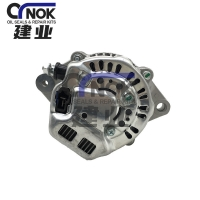 Wholesale 12V 45A Kubota 4D87 Engine Alternator 129052-77220 1012112200 1012112201 115435 TA04374012 Fits For PC56-7 Excavator from china suppliers