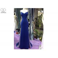 Wholesale Sexy Diamond Mermaid Prom Dress , Sweetheart Fishtail Dress See Through Style from china suppliers