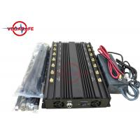 Wholesale 10 - 60m Cover Radius Cell Signal Blocker , Mobile Signal Jammer Device 40W Full Frequency from china suppliers