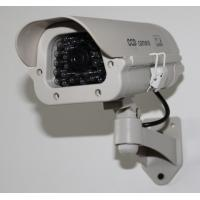 Buy cheap Indoor/Outdoor Mock Security Plastic Bullet Cameras with LED light DRA42B product