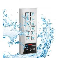 Wholesale AK1-EH 125kHz Proximity Card Door Access Control Keypad Zinc Material IP68 Waterproof from china suppliers