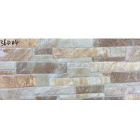 China Ancient Rustic Kitchen Ceramic Wall Tiles 300 X 600mm Size Fire Brick on sale