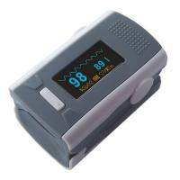 China Finger medical Pulse Oximeters Measure SpO2 PR with audio alarm & pulse for home hospital on sale