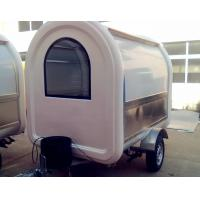 Durable Outdoor Mobile Shop Food Truck Trailers Easy Installation Manufactures