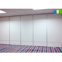 Wholesale White Melamine Movable Partition Walls Aluminum Frame Folding Panel Customized Office from china suppliers