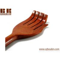 Wholesale solid wood back scratcher teak wood back scratcher exotic wood back scratcher  brown ,beige from china suppliers