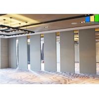 Wholesale Sound Proof Office Meeting Room Panels 65mm Thickness Wooden Material Sliding Partition Wall from china suppliers