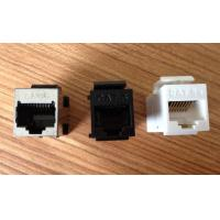 Wholesale Cat5e RJ45 Module Ethernet Keystone Jack Inline Coupler Wire Gauge 22 - 24 AWG from china suppliers