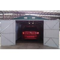 Metal Car Shelter : Prefab galvanized steel car garage outdoor apex