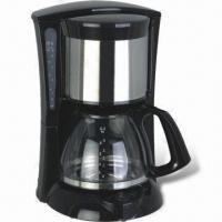 A Coffee Maker Has A Filter Holder : Electric Coffee Maker with Swing Filter Holder and Water Level Indicator - 95436532