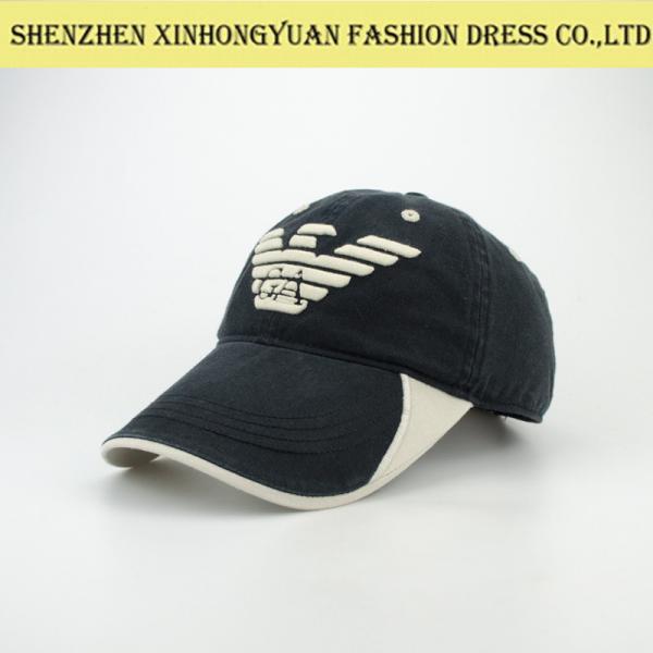 waterproof acryl flat baseball caps with wide brim