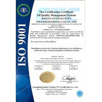 Dongguan Excar Electric Vehicle Co., Ltd Certifications