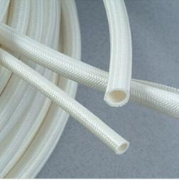 China Silicone coated fiberglass insulating Tube on sale