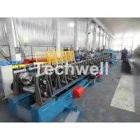 Wholesale Auto Changeover CZ Purlin Roll Forming Machine / CZ Section Cold Roll Forming Machine from china suppliers