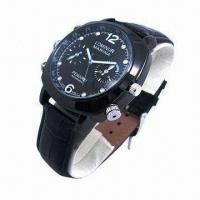 Wholesale 1080p spy watch camera, 3ATM waterproof design from china suppliers