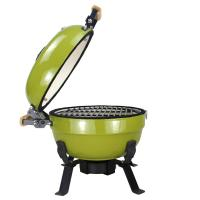 Wholesale Mini Innovative Tabletop Kamado Grill With Bamboo Handle , 2-5 people Grill Type from china suppliers