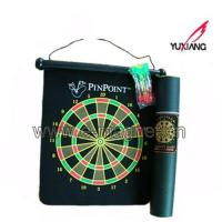 China Roll Up Magnetic Dartboard, Magnetic Dart Board Game on sale