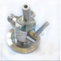 Wholesale Hygienic Stainless Steel 304 Manual PTFE Sealing Clamp Sample Valve Stainless Steel Automatic Return Aspetic Sample Val from china suppliers