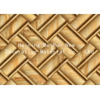 Wholesale Printable Hot Stamping Foil Rolls , Pvc Membrane Foil For Doors Strong Adhesion from china suppliers