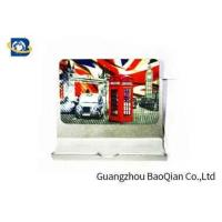 Wholesale PET Fridge Lenticular Magnet Souvenir 4 Color 3D UV Printing 0.45mm Thickness from china suppliers