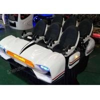 Wholesale 6DOF Platform Theater Family 9D VR Cinema Virtual Reality Simulator Equipment 6 Seats from china suppliers