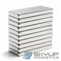 Wholesale Block Rare Earth Super Strong Neodymium Magnet 60 x 10 x 5mm N52 from china suppliers