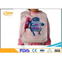 Wholesale Eco Friendly Plastic Disposable Bibs For Adults , Waterproof Disposable Lobster Bibs from china suppliers