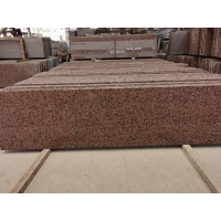 Wholesale Polished Honed Maple Leaf Red Granite Stone Tiles For Wall from china suppliers