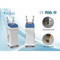 Wholesale advanced auto delivery tech 5MHz rf fractional micro needle and superfacial thermage machine from china suppliers