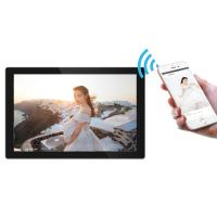 China Android 8.1 WiFi Cloud Touch Screen Digital Photo Frames 10 Inches on sale