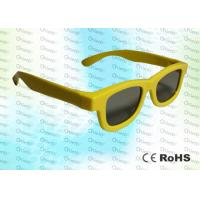 Wholesale Master Image and Adult RealD, ABS Plastic framed Circular polarized 3D glasses from china suppliers