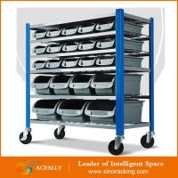 Wholesale Factory Price Mobile Bin Rack from china suppliers